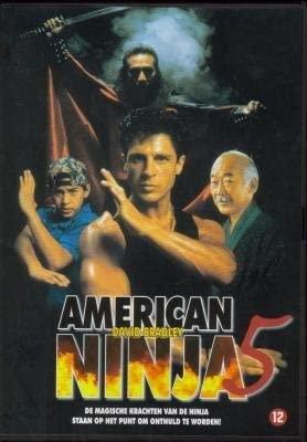 American Ninja 5 1993 Region 2 import by David Bradley ...