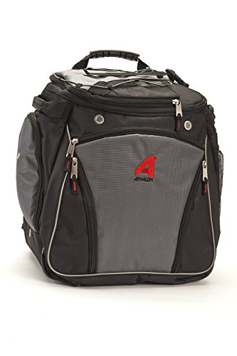 Athalon Heated Boot Bag, Grey/black, Large