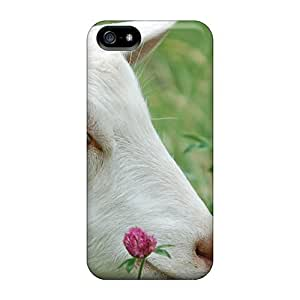 Cute High Quality Iphone 5/5s Goat Flowers Case
