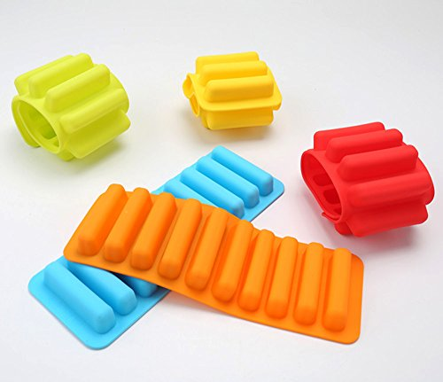 water bottle ice tray silicone - 8