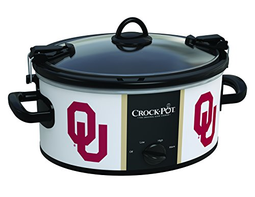 Cheap Oklahoma Sooners Collegiate Crock-Pot Cook & Carry Slow Cooker