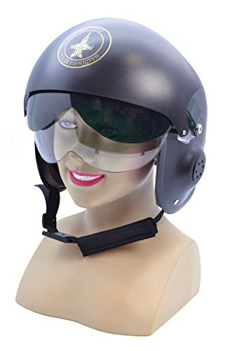 Bristol Novelty Jet Pilot Helmet. Hats Mens One Size - -