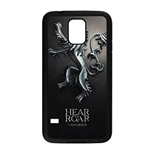 Lanister Logo Games Of Thrones Samsung Galaxy S5 Cell Phone Case Black Phone Accessories JVG07446