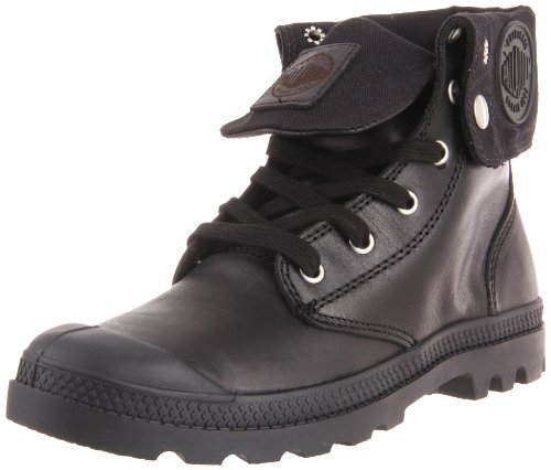 Palladium Women's Baggy Leather Boot,Black,9.5 M US by Palladium