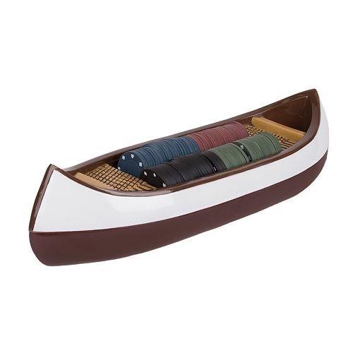 Upstream Canoe Poker Set by Reward Lodge