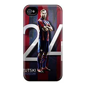 New Arrival DbM26255hMXH Premium Iphone 6 Cases(cska Defender Vasili Berezutski)
