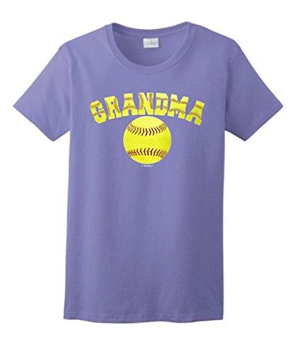 Softball Grandma Mothers Sports T Shirt