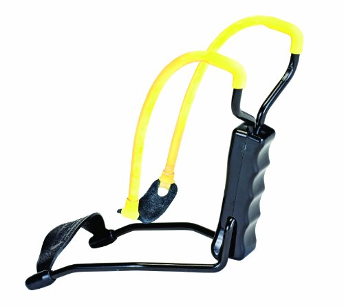 Daisy Outdoor Products B52 Slingshot (Yellow/Black, 8 Inch), Outdoor Stuffs