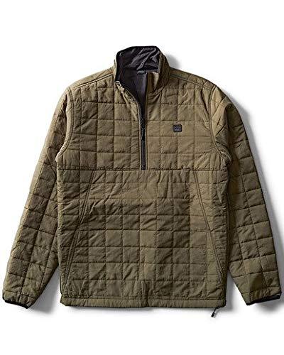 Billabong Men's Boundary Reversible Puffer Jacket Military - Division Military Jacket