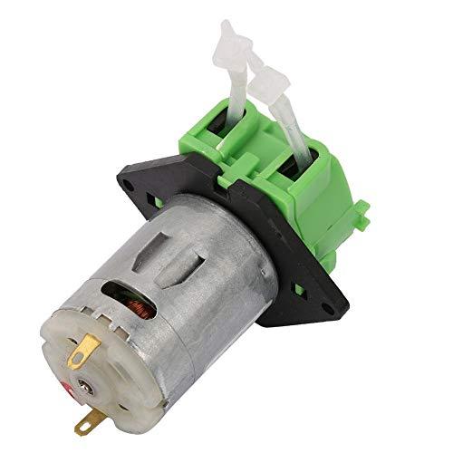 Effacer 12V 13 Dosing Pump Peristaltic Dosing Head ,Peristaltic Tube Head for Aquarium Lab Chemical Analysis (Green)