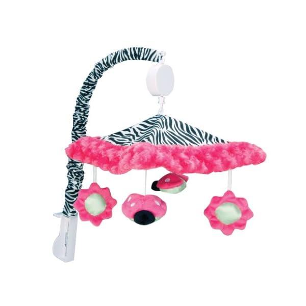 Trend Lab Zahara, Ladybug Musical Crib Mobile, Baby Mobile, Nursery