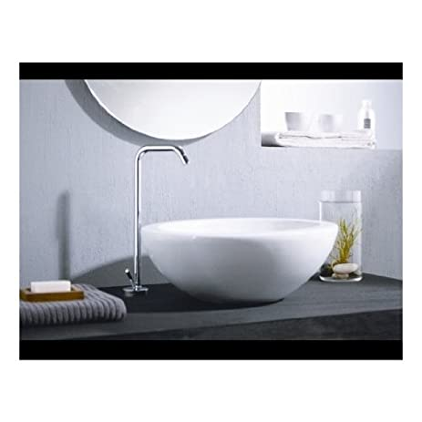 St Thomas Creations Round Vessel Lavatory Sink With no Faucet Hole ...