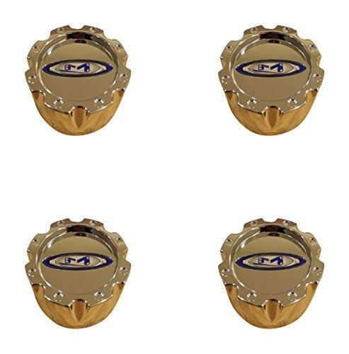 4x Moto Metal 950 951 953 Chrome Wheel RIm 8 Lug Center Cap 353K133H (4 Lug Chrome Rims)