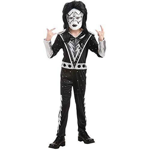 KISS Band - Spaceman Child Costume Size 12-14 Large