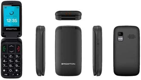 TELEFONO MOVIL Libre BTM-5 Concha BK FM BT BRIGMTON: Amazon.es ...