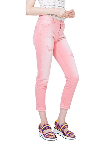 cyrene Pantaloni Pant caramel Donna 3122 Desigual Rosso pqwCEE