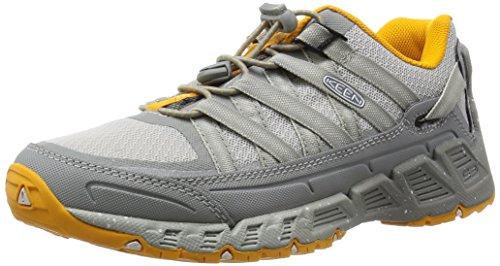 KEEN Women's Versatrail Shoe, Neutral Gray/Saffron, 11 M US by KEEN