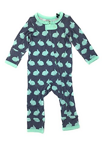 Kozi & Co. Baby Romper Coverall - Infant Boys & Girls, Bunny Hop,18-24 Months ()
