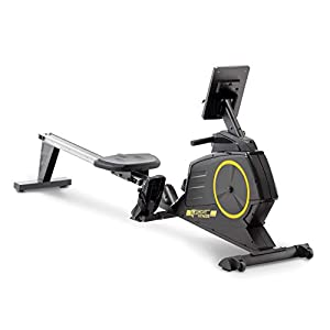 Well-Being-Matters 41EtYi05y3L._SS300_ CIRCUIT FITNESS Circuit Fitness Deluxe Foldable Magnetic Rowing Machine with 8 Resistance Settings & Transport Wheels…