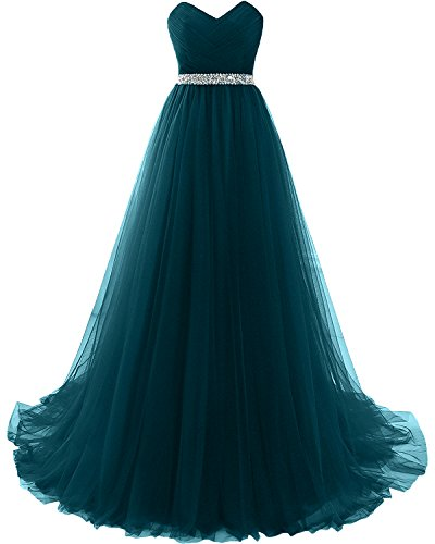 Long MILANO Teal Dresses Prom Strapless Affordable Evening Waist BRIDE 2018 Empire WqFIOpqB7