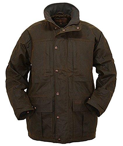Deer Hunter Jackets (Outback Trading Co Men's Co. Deer Hunter Oilskin Jacket Bronze X-Large)