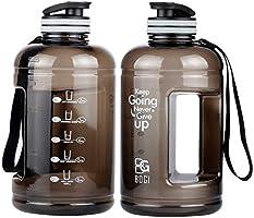 BOGI 1.3 or 2.2L 75oz Large Sport Water Bottle, Half Gallon Water Bottle BPA Free Leak Proof Reusable Anti-Fall Tritan...