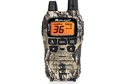 Midland - X-TALKER T75VP3, 36 Channel FRS Two-Way Radio - Up to 38 Mile Range Walkie Talkie, 121 Privacy Codes, & NOAA Weather Scan + Alert (Pair Pack) (Mossy Oak Camo) by Midland (Image #2)