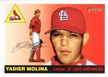 2004 Topps Heritage Baseball 355 Yadier Molina Rookie Card
