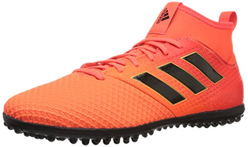 adidas Performance Men's Ace Tango 17.3 TF Soccer Shoe, Solar Orange/Black/Solar Red, 10 Medium US (Shoes Soccer Turf Men)