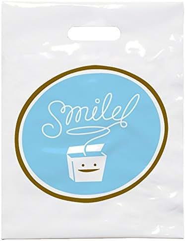 Practicon 1109620 Smile Floss Patient Care Bags, 7-3/4