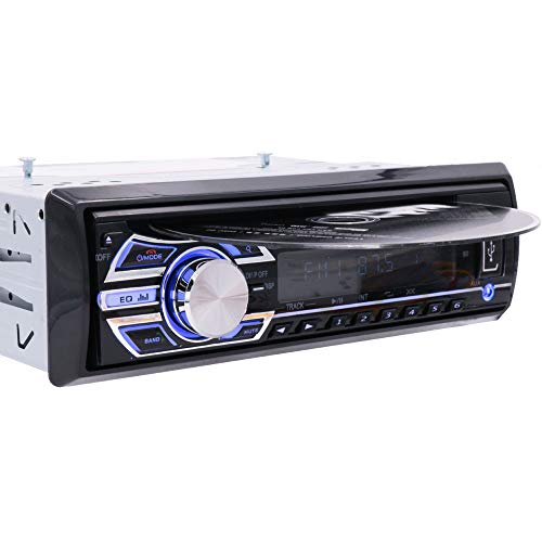 Car CD Player Stereo Headunit CD DVD Player Receiver Radio 1 Din 12V Bluetooth/MP3/USB/SD/AUX/FM by Hengweili