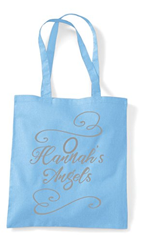 Bag Hen Customised Blue Shopper Party Angels Do Sky Tote X1vgq