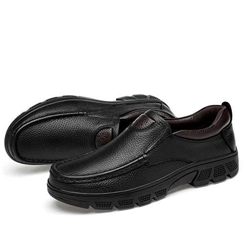 Warm Basse 2018 formale 47 classico Brown casual Men's Dimensione confortevole Color Xujw Nero Stringate formato EU shoes Oxford Velvet grande Opzionale Low scarpe Scarpe Warm Top moda 5pwqSTI