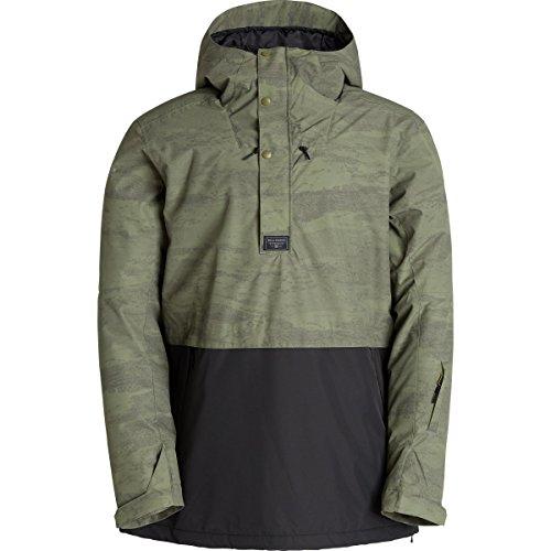 Billabong Men's Terrain Snow Jacket, Green Camo, Medium
