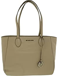 Michael Kors Women's Ani Large Leather Leather Top-Handle Tote - Cement