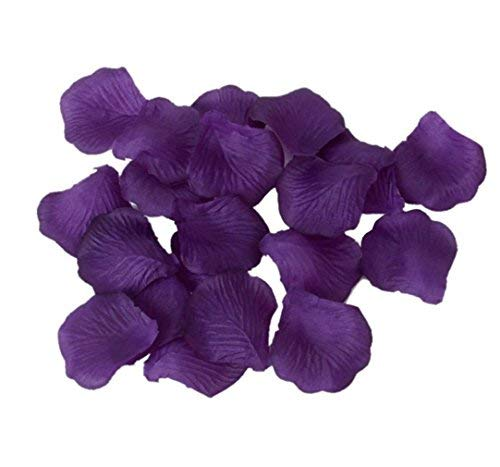 1000pcs Silk Rose Petals Artificial Wedding Party Flower Decoration Bridal Shower Aisle Vase Decor Confetti Petals Rose Favors by ()