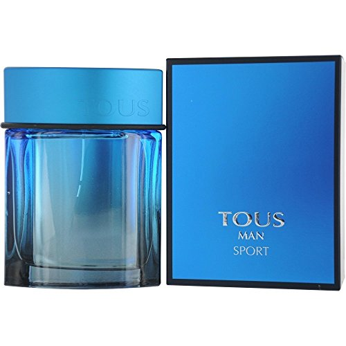 Tous Man Sport Men Eau-de-toilette Spray by Tous, 3.4 Ounce