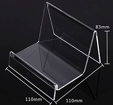 Amazon Com Clear Acrylic Wallet Display Stand Holder Purse Display