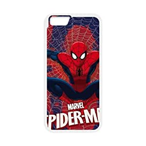 iPhone 6 4.7 Inch Cell Phone Case White Spider Man Web C1W1PZ