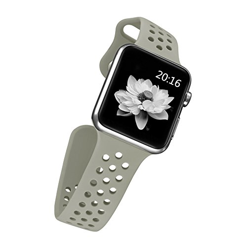 top4cus Silicone Replacement Sport iWatch