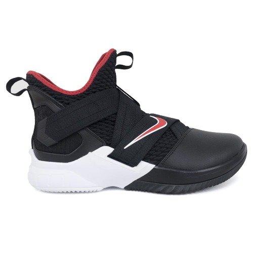 Nike(ナイキ) LEBRON/レブロン レブロンジェイムス シューズ/バッシュ LEBRON SOLDIER XII EP (ブラック) B07DD9VXM6