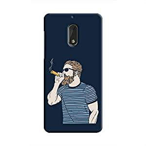 Cover It Up - High Hipster Nokia 6 Hard Case