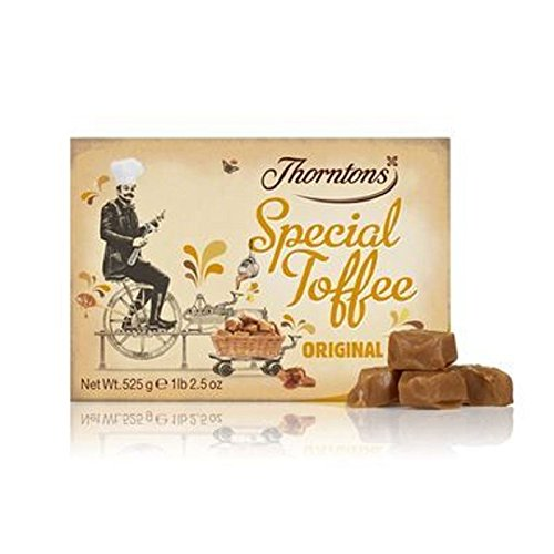 Thorntons Original Special Toffee Box (525g) (Pack of 6)