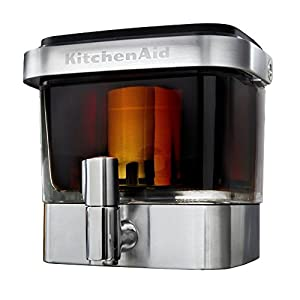 KitchenAid KCM4212SX Glass and Stainless Steel 14 Serving Cold Brew Coffee Maker from KitchenAid