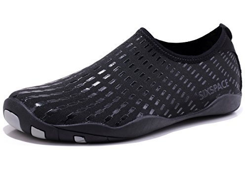 Shoes Quick Schuhchan Aqua for Men Pool Surf Sports Black Beach Dry Water Yoga Women Barefoot 11FtwC8q