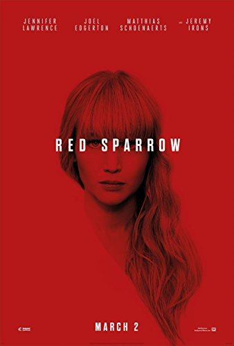Red Sparrow Movie Poster 18 x 28 Inches