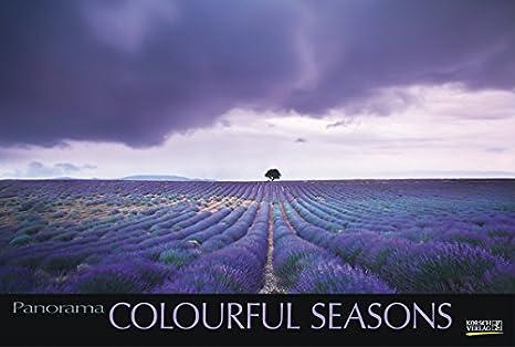 Calendario Panorama.Korsch Colourful Seasons Foto Art Del Calendario Panorama