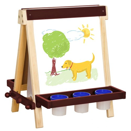 Guidecraft Wooden Tabletop Easel G51031