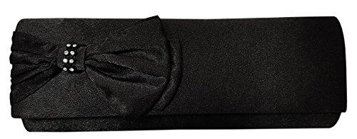 Damen Handtasche Clutch-Tasche in Schwarz