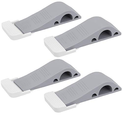 Image of Wundermax Door Stopper Rubber Door Stop Wedge Security Door Stops